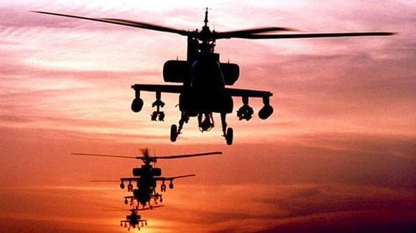 Kerry announced in June that Egypt would receive 10 Apache helicopters to help counterterrorism.