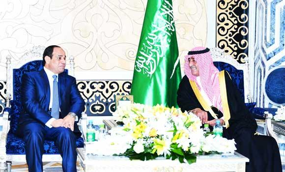 El-Sissi arrives for key Mideast talks