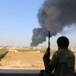 U.N. Libya delegation talks in Tripoli to broker ceasefire