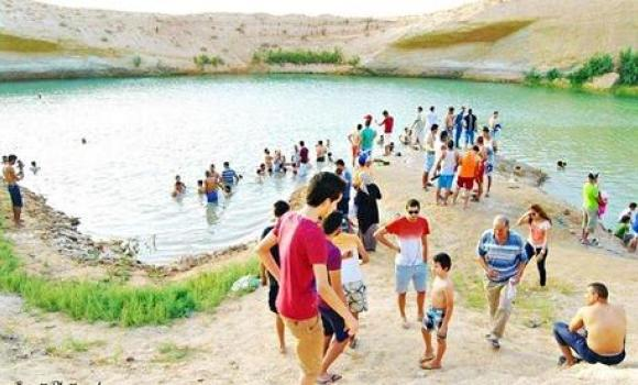 """No explanation has been provided for the sudden appearance of """"Gafsa lake"""" in the desert of Tunisia."""