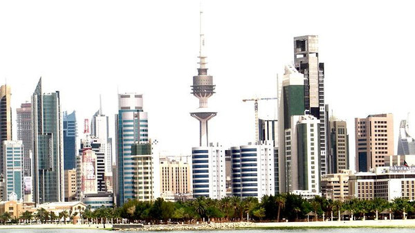A panorama of Kuwait City.