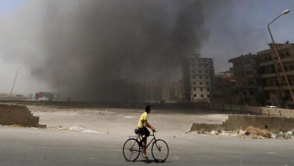 Observatory directory Rami Abdurrahman said six of those raids targeted a military court.