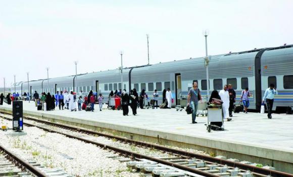 Riyadh Dammam rail link