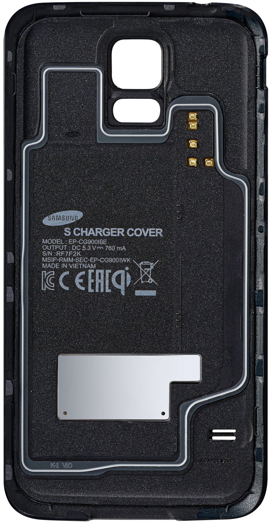 Samsung offers replacement wireless charging backs for various phones, including its Galaxy S5.