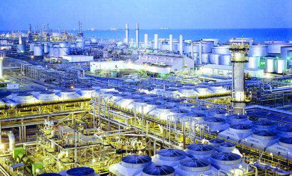 A view of Saudi Aramco's Ras Tanura refinery.