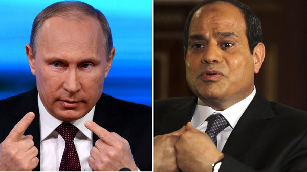 In February, Sisi, the then Egyptian army chief and defense minister, headed to Russia to discuss military cooperation with Putin.
