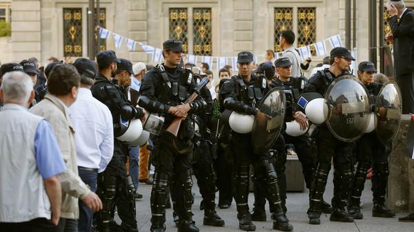 Swiss police.