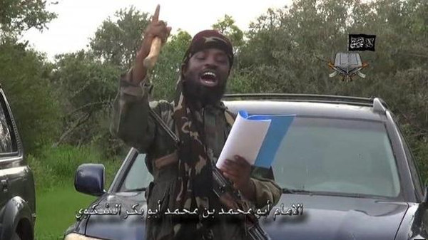 The leader of Nigeria's Islamist group Boko Haram in his previous video, he was congratulating Islamic State in Iraq and Syria.