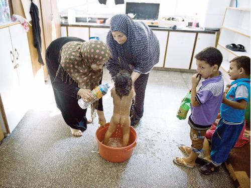 water shortage in GAZA