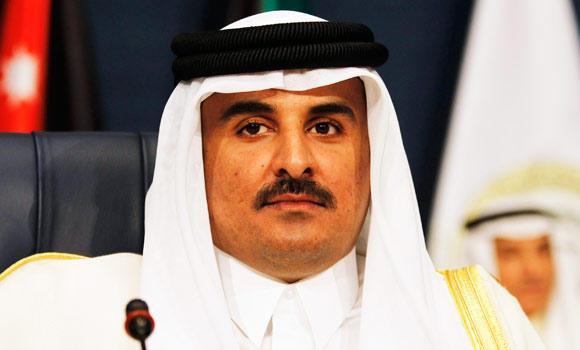 Emir of Qatar Sheikh Tamim bin Hamad al-Thani.