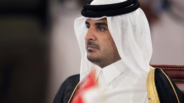 The emir of Qatar has denied accusations that his country funds extremist groups in Syria, while stressing the Gulf state's commitment to the U.S.-led campaign against the Islamic State of Iraq and Syria (ISIS).