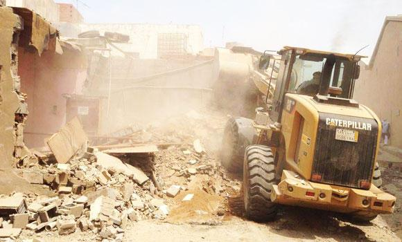 Jeddah Municipality's cleanup drive is in full swing.