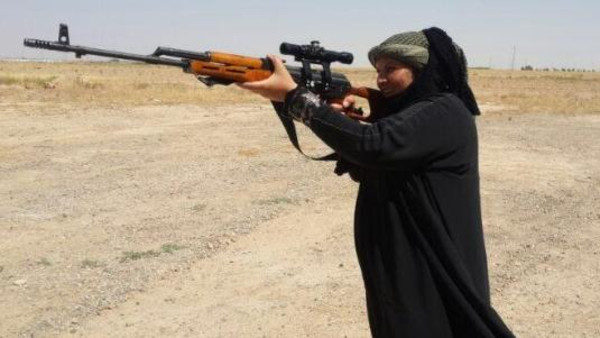Oumaya Naji Jabara was killed after an ISIS sniper killed her directly in the chest.