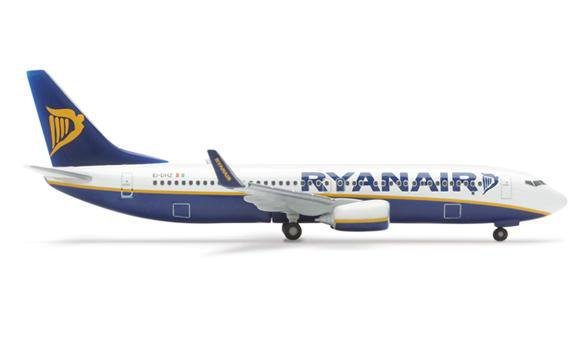 A Ryanair Boeing 737-800 plane is shown in the airliner's website. Ryanair, which exclusively operates the 737-800 as a strategy to bring the cheapest flights on all of its routes, has committed to order 100 of Boeing's 737 MAX 200 airplanes.