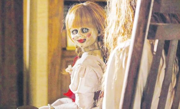 A scene from horror flick 'Annabelle'.