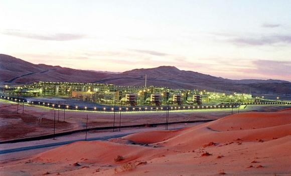 Saudi Aramco's Shaybah facility