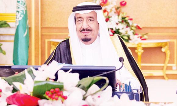Crown Prince Salman chairs the weekly Cabinet meeting in Jeddah. (SPA)