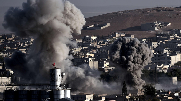 The Pentagon said in updated figures on Monday the average daily cost of the fight against ISIS militants has risen to $8.3 million, or a total of $580 million between Aug. 8 and Oct. 16.