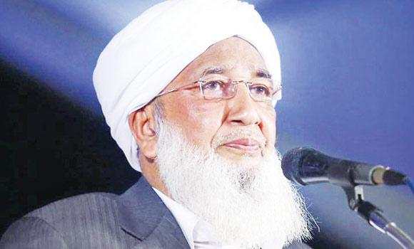 Sheikh Abubakar Ahmed, General Secretary, All-India Muslim Scholars' Association.