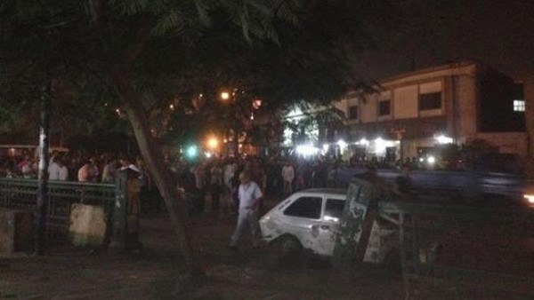 The blast reportedly took place outside a court building in the center of Cairo early Wednesday.