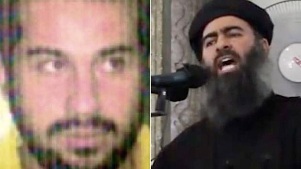 Sources told Al Arabiya News Channel Saturday that Baghdadi (R) was 'critically wounded' and his close aide, Abu Suja (L), was killed.