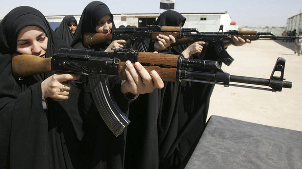 """Women of Justice,"" an all-female group aimed at fighting a jihadist group in Iraq, was recently formed in the Sunni-stronghold province of Anbar."