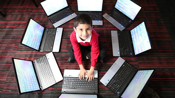 Ayan Qureshi was first introduced to computers at the age of three by his father.