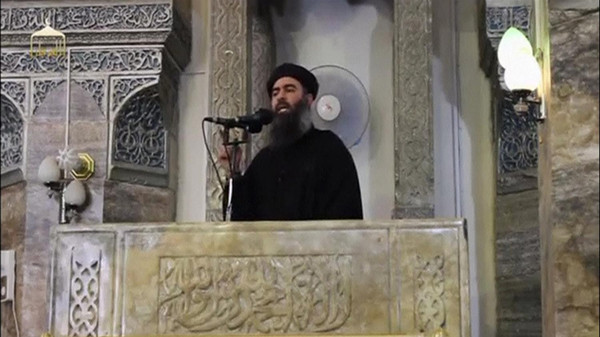 "Baghdadi said his self-proclaimed ""state"" is expanding to countries in the region."