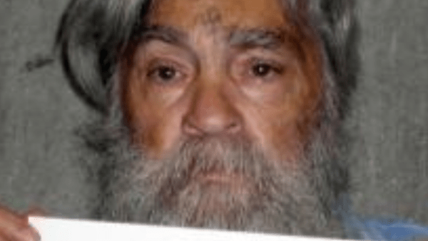 Convicted mass murderer Charles Manson is shown in this handout file picture from the California Department of Corrections and Rehabilitation dated June 16, 2011 and released to Reuters April 8, 2012.