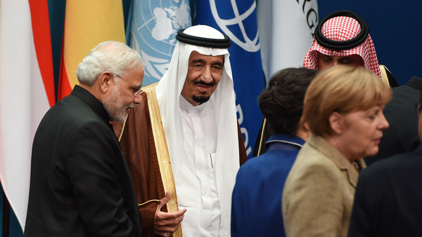 The crown prince also urged world leaders to assist the Middle East resolve the problems the region is facing.