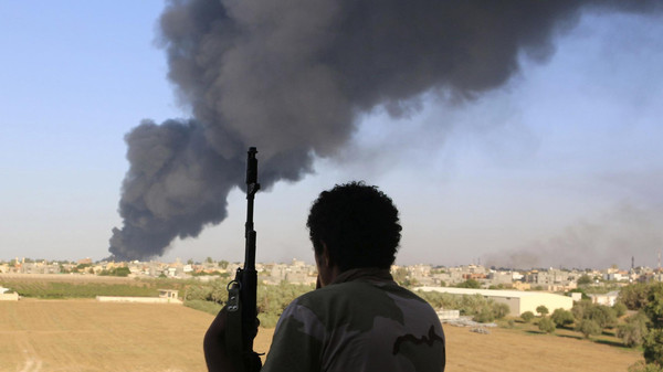 The commander in the coalition of Islamist militias known as the Dawn of Libya said the rival Zintan militia.