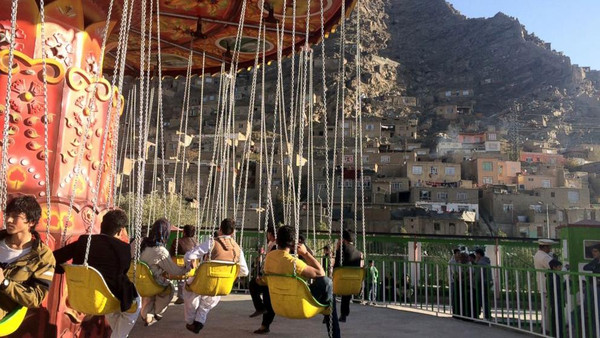 The new park, called Kabul City Park, welcomed thousands of visitors since its opening in October.