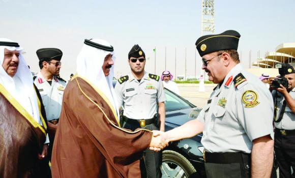 National Guard Minister Prince Miteb bin Abdullah leaves Riyadh on Tuesday for Washington. (SPA)