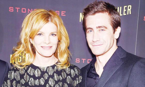 'Nightcrawler' cast actors Rene Russo, left, and Jake Gyllenhaal.
