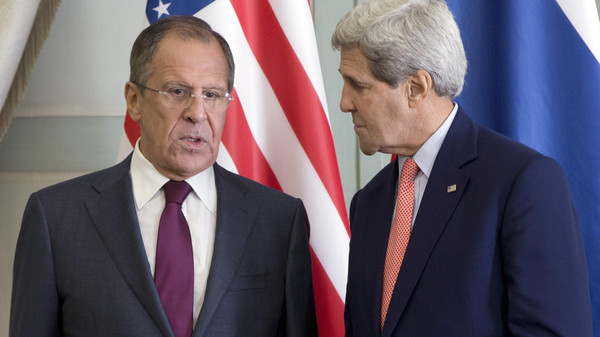 Russian Foreign Minister Sergei Lavrov and his U.S. counterpart John Kerry called on Wednesday for an agreement on a nuclear deal with Iran.