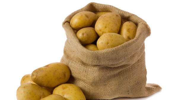 The hashish was hidden in incisions made in 16 potatoes.