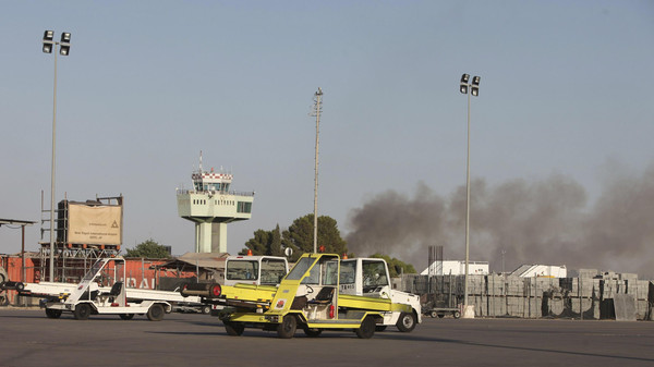An airport official said that Mitiga was closed to air traffic due to the violence.