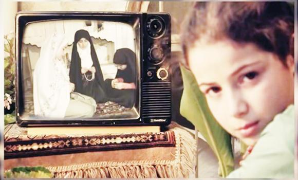 "An image grab taken from a video uploaded to YouTube shows nine-year-old Rasha, right, in the introductory scene of the YouTube show ""Umm Abdo Al-Halabiya."""