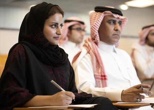 working woman in saudi