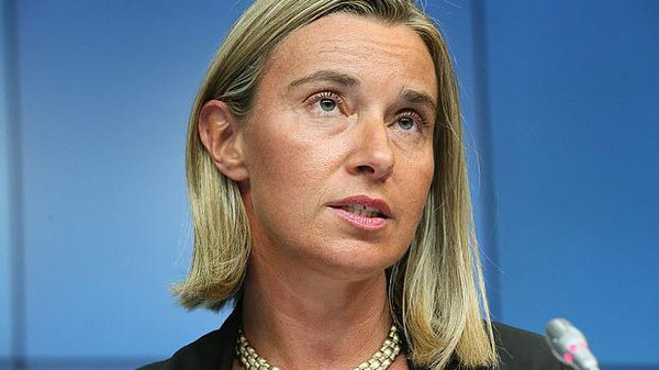 "The EU's foreign affairs chief, Federica Mogherini, said she hopes the ministers can agree on ""concrete"" ways to help at a meeting Monday in Brussels."