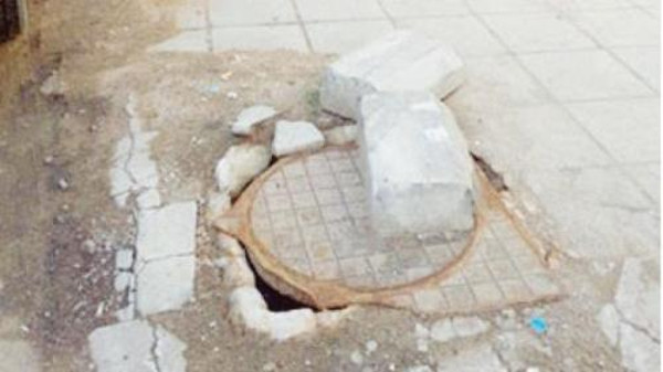 Why are local authorities not inspecting manholes periodically and replacing old covers with newer ones, residents ask.