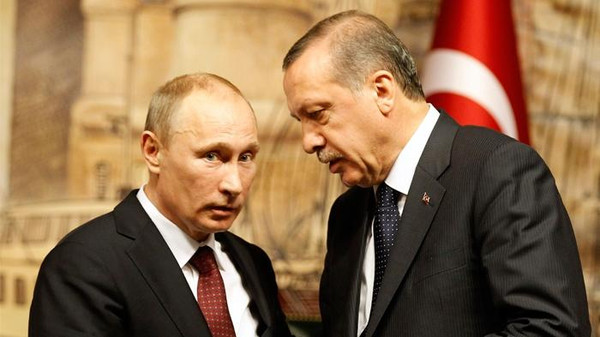 Russia and Turkey appear so far to have successfully shielded their strong relations from potentially damaging disputes over the crises in Syria and Ukraine.