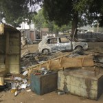 Suicide bomber kills four at Nigeria bus station