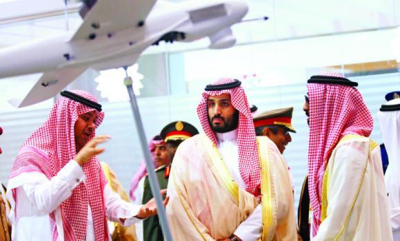 Defense Minister Prince Mohammed bin Salman