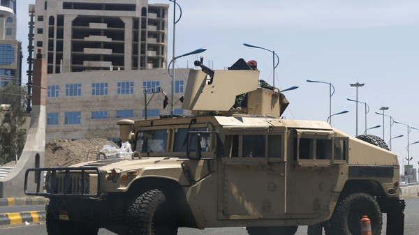 Security in Yemen has frayed since the Houthis formally took power in the capital this month.