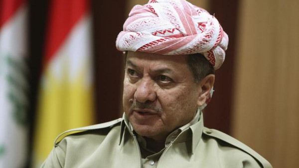 """We promise the families of these martyrs that their blood will not be wasted and that we will avenge them,"" Barzani said in an online statement."