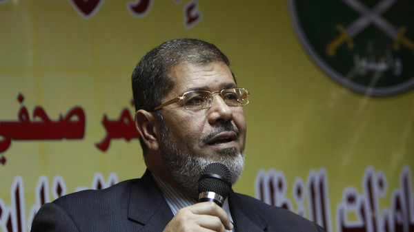 "Ten other were accused of founding a pro-Morsi group under the name of ""Judges for Egypt."""
