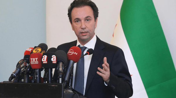 Syrian National Coalition chief Khaled Khoja, who was elected in January, thanked German Foreign Minister Frank-Walter Steinmeier for the country's resettlement of Syrian refugees