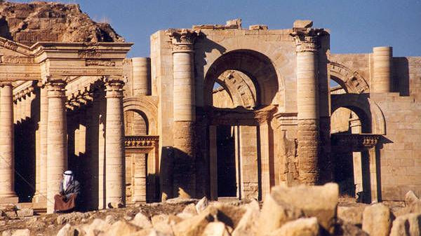 The ruins of Hatra.