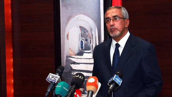 The leader of the government in Tripoli, Omar al-Hassi, was sacked Tuesday by the parliament in the Libyan capital.